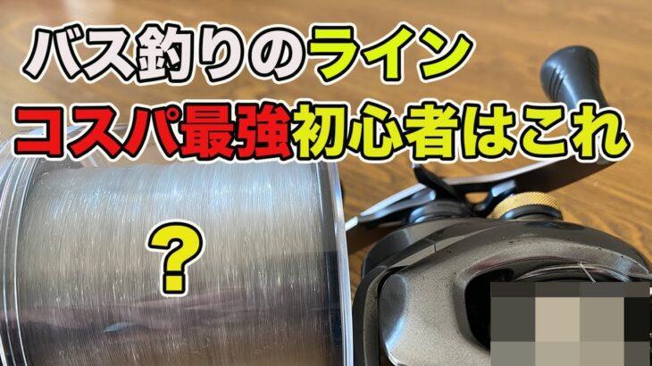 【バス釣り初心者】ライン(釣り糸)のおすすめを紹介!!太さを選べぶだけでこれがあれば問題なし!!