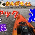 【カヤック】初の海釣りに出航!魚探あれば鬼に金棒【海釣り】