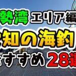 【完全保存版】愛知のおすすめ海釣りスポット28選 伊勢湾編