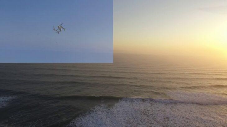 ドローンによる海釣り用メタルジグ・キャリア