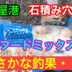 シーフードミックスでまさかな釣果 名古屋港 穴釣り
