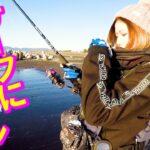【ギャル系釣りガールと海釣り】最後にはまさかのドラマフィッシュが!?