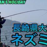 【グレ釣り】長崎県大瀬戸 ネズミ瀬 近場の磯で寒グレを狙う【磯釣り】Fishing for opaleyes in Nagasaki Japan.