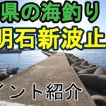 明石新波止の釣り場(海釣り 兵庫県 明石浦漁港 新浜漁港)