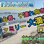 関西のおすすめ釣り場紹介【堺浜海釣りテラス】