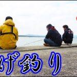 堤防から大遠投して天ぷらが美味しい魚を狙う!