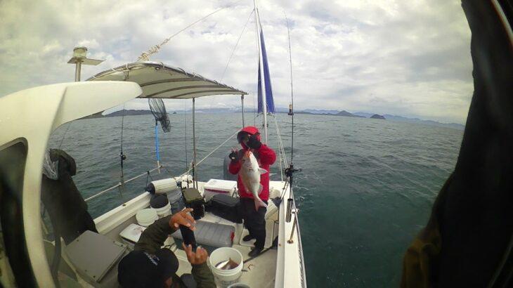 瀬戸内タイラバ 船マダイ釣り 瀬戸内海の良型真鯛ゲット!