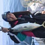 マイボート海釣り! 釣りガール初心者パワー恐るべし