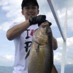 フィリピンで船釣り!ジギングでカンパチ9.5kgファイトシーン!
