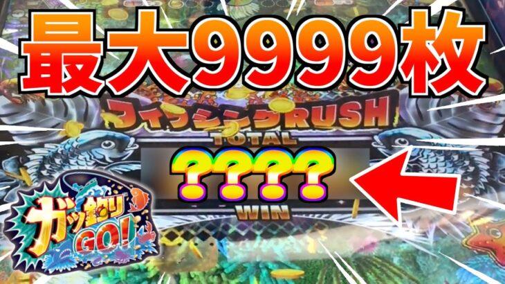 """大量メダルを獲得できる""""フィッシングラッシュ""""の最大枚数がエグい!!www【ガッ釣りGO】"""