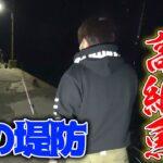 #1 夜の堤防で高級魚が入れ食い状態になった!!