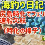 【焼尻島の海釣り】釣り動画では無く時化の様子【海釣り日記4】