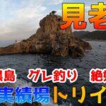【磯釣り】見老津「トリイヨコ」連日好調、沖の黒島でグレ釣り!