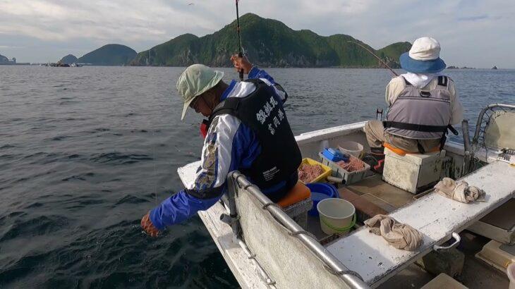 アジ釣り、それぞれのコツで合計200匹、沖で船釣りだと こんなにでかいのか!びっくり!