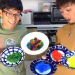 子供なら喜んでくれるかもしれない和菓子を作ってみた!!【レインボーシリーズ】