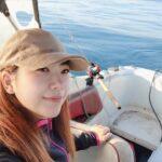 【釣りガール】北海道の海の上から生配信!