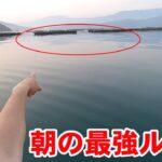 朝マズメの海はコレさえ投げれば簡単に釣れる最強ルアー!