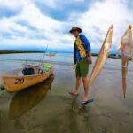 葉山で手漕ぎボート釣り!ある魚が入れ食い状態!謎の巨大魚も!?水中映像もあり