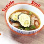 スープに天ぷら?美味しいスープが誕生!