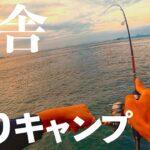 【釣りキャンプ】ひとり孤独に田舎で楽しく暮らす。海釣りとソロキャンプ【孤独の釣り】