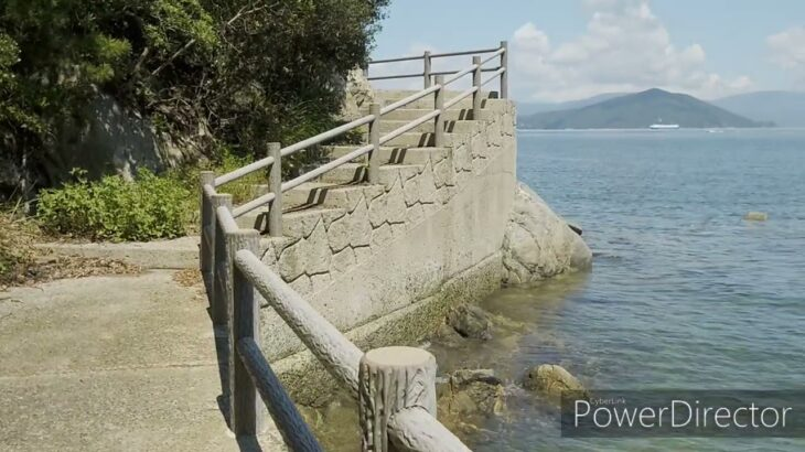 さぬき市大串半島海釣り公園跡地 遊歩道歩くだけ