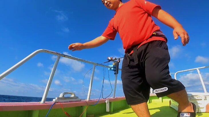 39・スロージギング(沖メバル)釣り人が不在でも優秀な電動リールがサポート【海釣り】【船釣り】