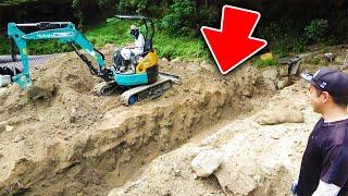 【山復興】とんでもない大きさの穴を掘りました。