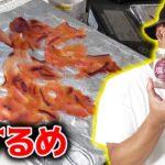イカの塩辛を乾燥機に入れたら生するめができた!!